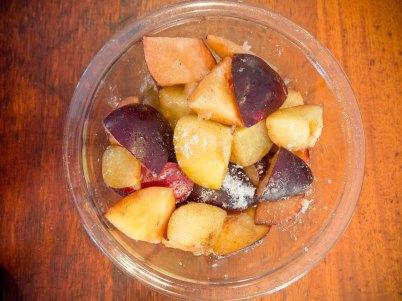 Making Fruit Filling for Desserts
