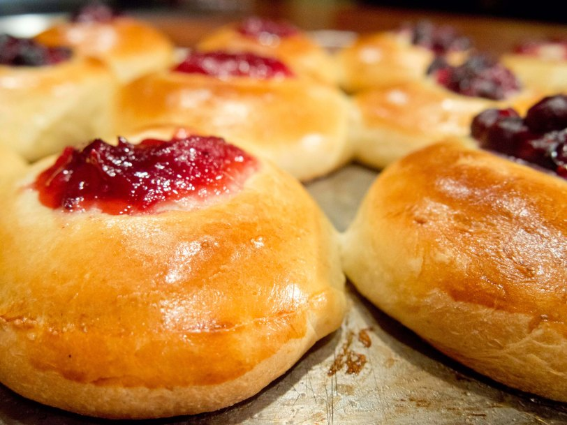 Baking Homemade Kolaches