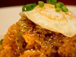 Kimchi Fried Rice in Bowl